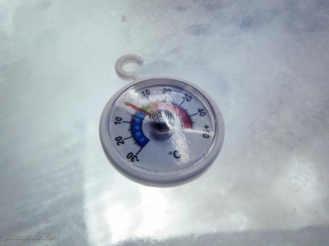 Температура в ледяной комнате
