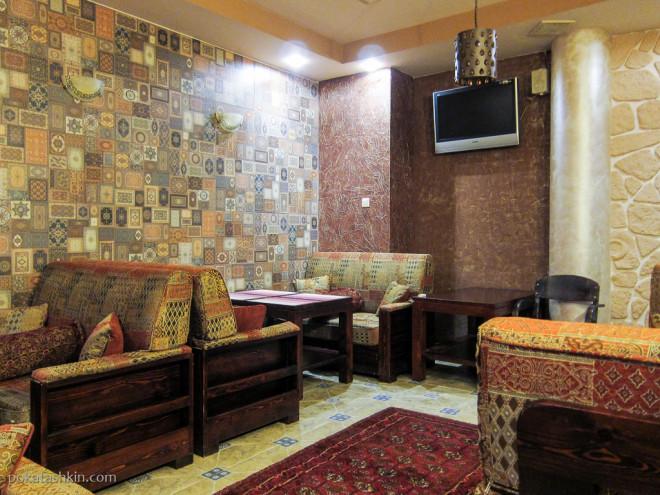 VIP-зал в кафе «Station One» / «Стейшн Уан» (Гомель)