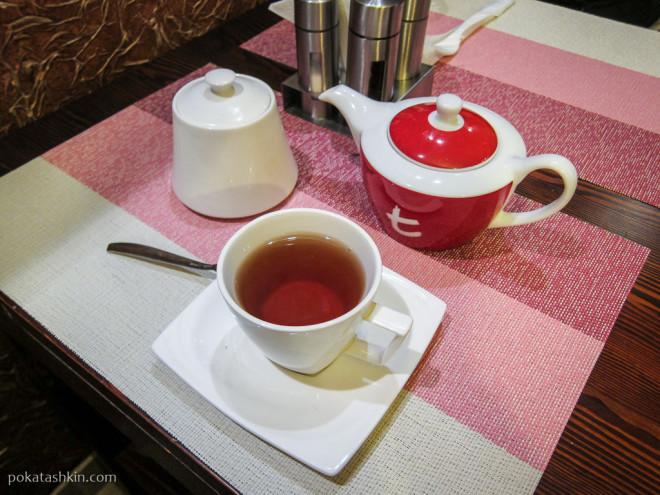 Чёрный травяной чай