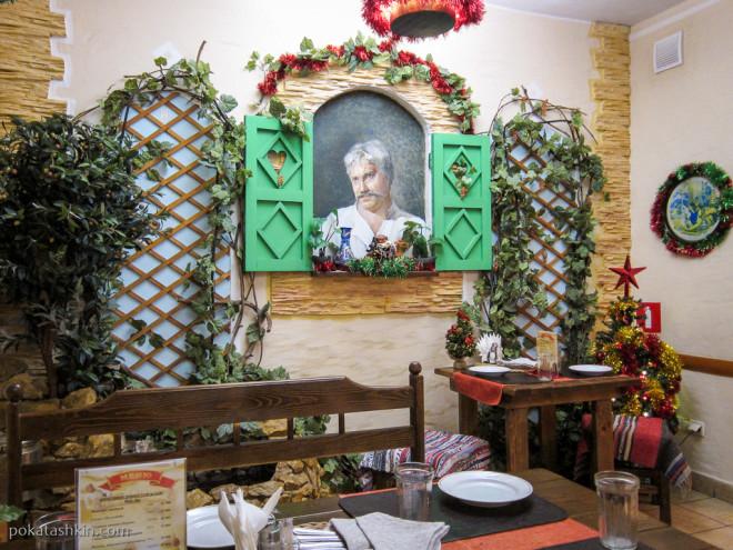 Зал «Белое солнце пустыни» в кафе «Старое время» (Гомель)