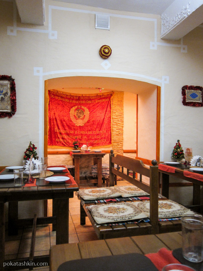 Интерьер кафе «Старое время» (Гомель)