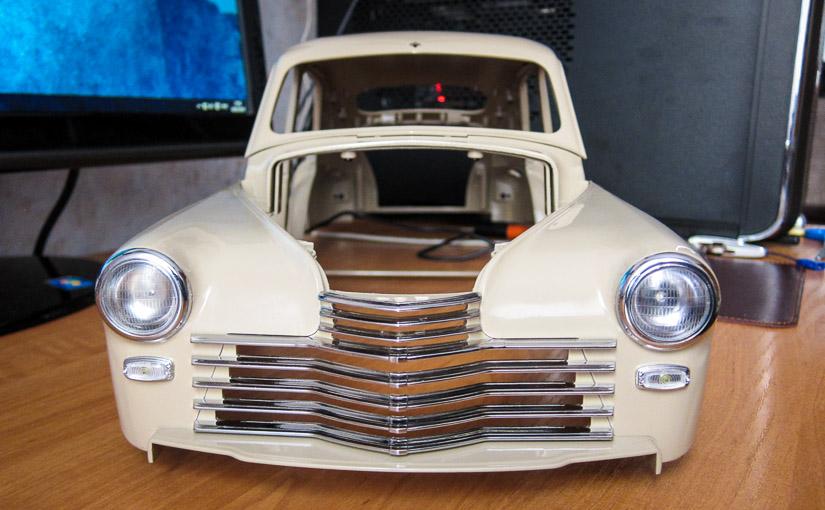 Модель автомобиля ГАЗ-М-20 «Победа» в масштабе 1:8 (№62-71)