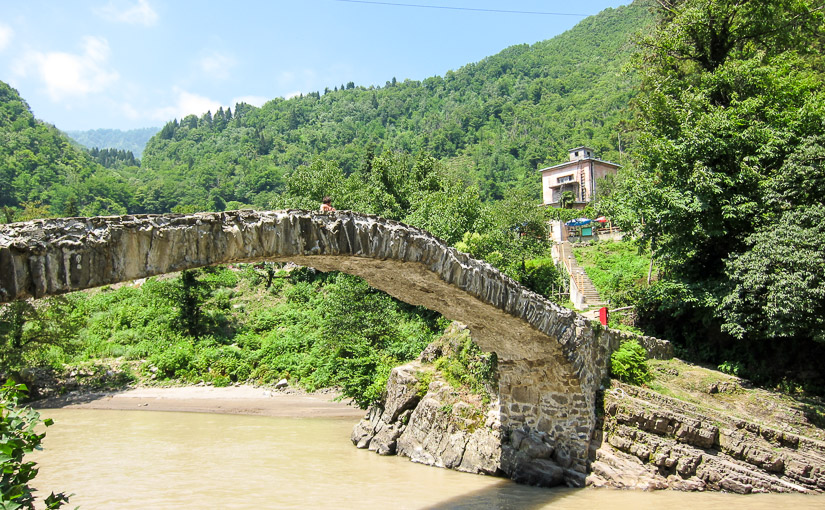 Батуми. День 4. Водопад Махунцети и арочный мост царицы Тамары
