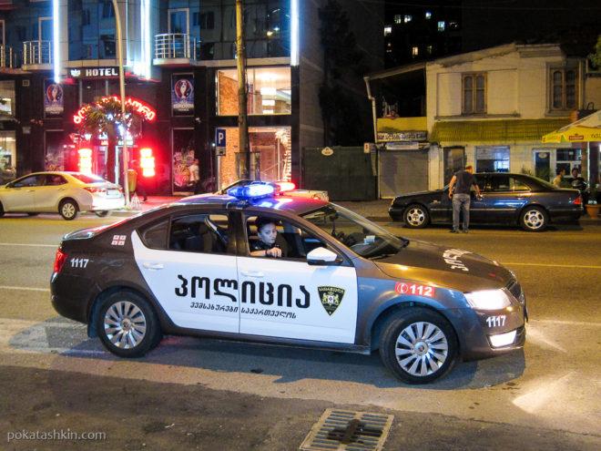 Полиция в Батуми