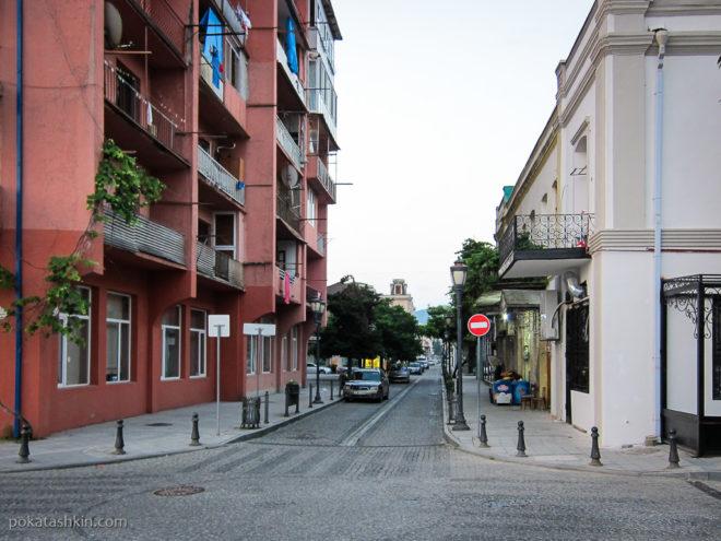 Батуми. Узкие улицы