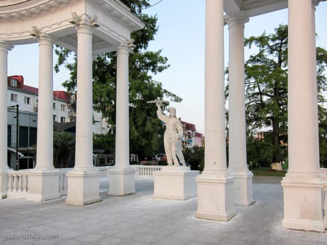 Батуми. Парк 6 мая - Пионерский парк