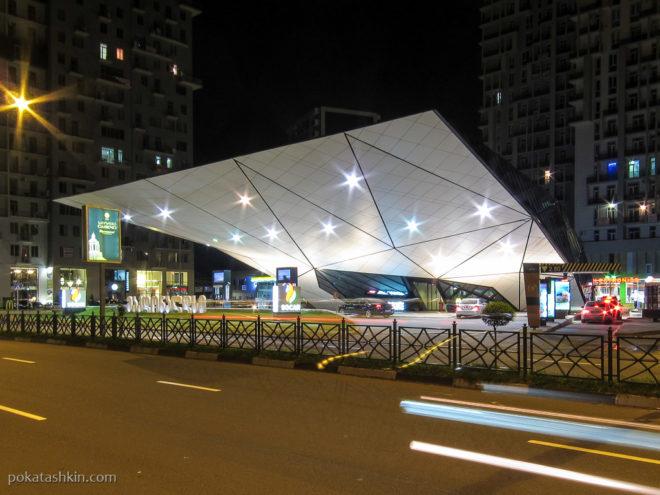 Автозаправочная станция и МакДональдс в Батуми