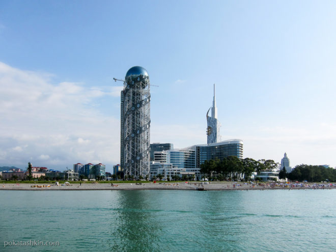 Башня Алфавит с моря