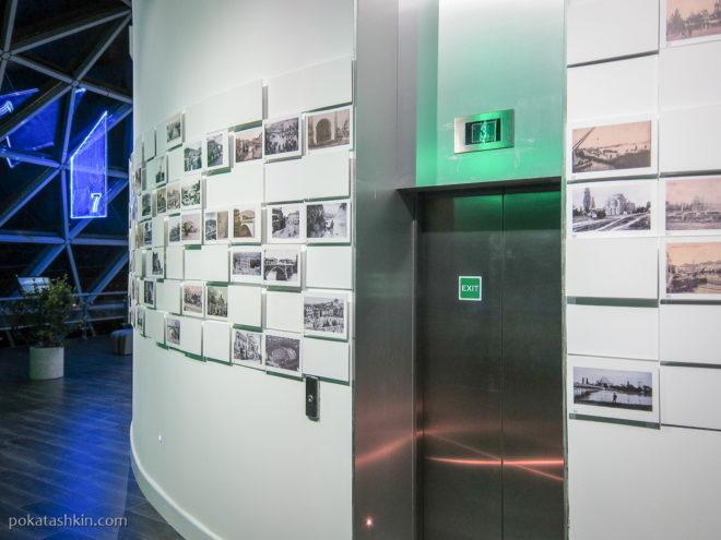 """Фотографии старого Батуми в башне """"Алфавит"""""""