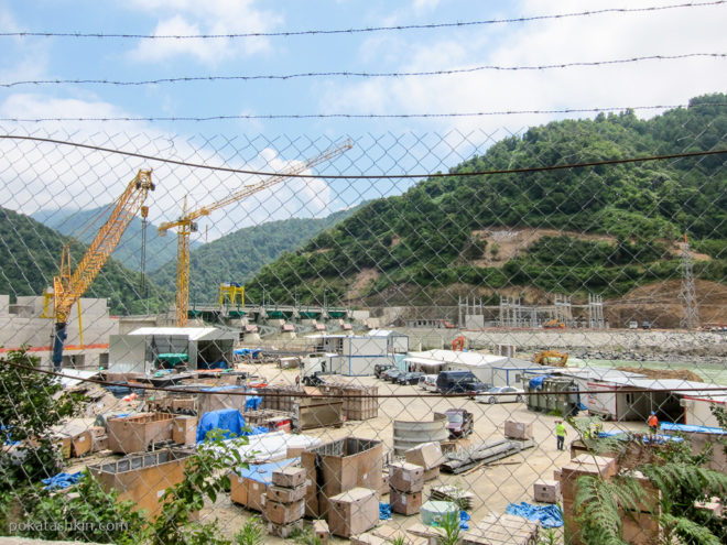 Строительство ГЭС под Батуми