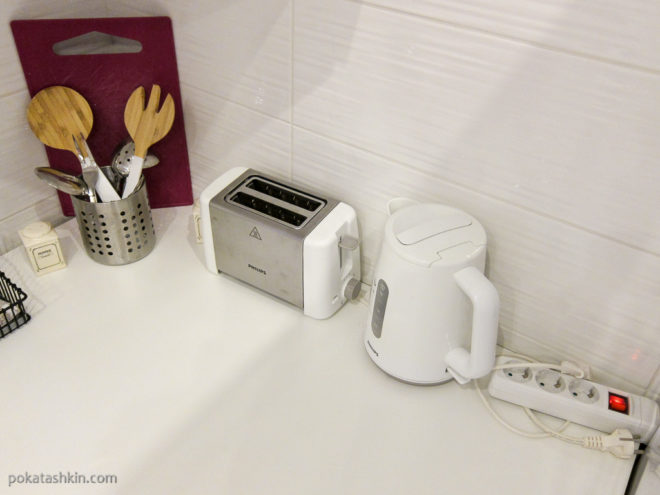 Тостер, электрический чайник