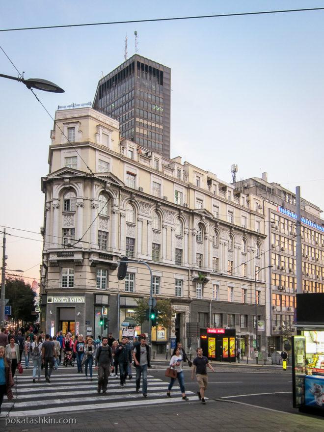 Архитектура в центре Белграда