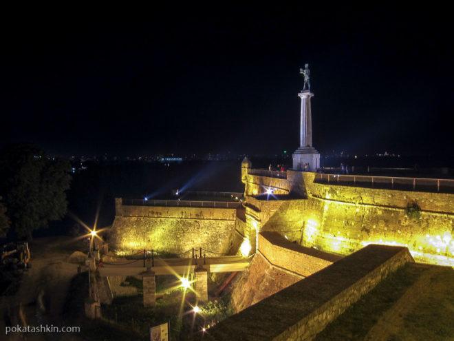 Белградская крепость и парк Калемегдáн