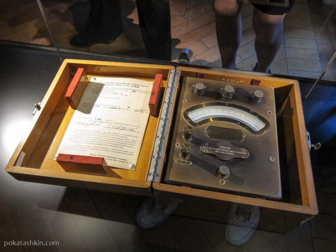 Измерительные приборы Николы Теслы (Белград)