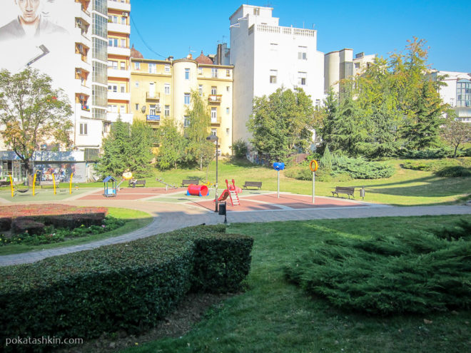 Детские площадки в Белграде