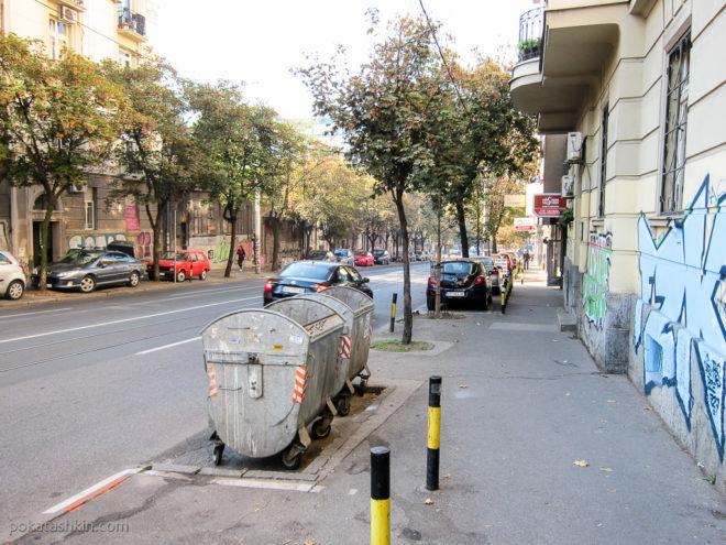 Парковка в Белграде
