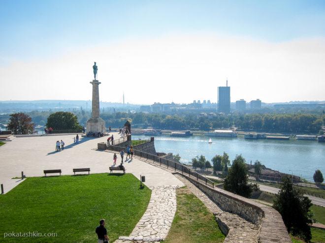 Памятник Победителю в Белградской крепости