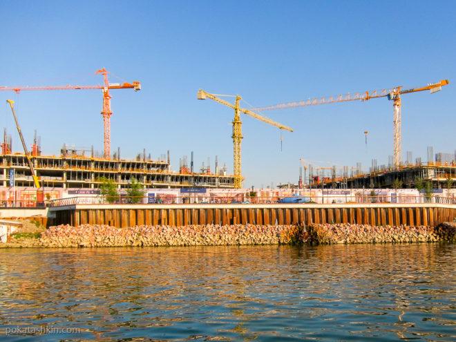 Стройка в Белграде