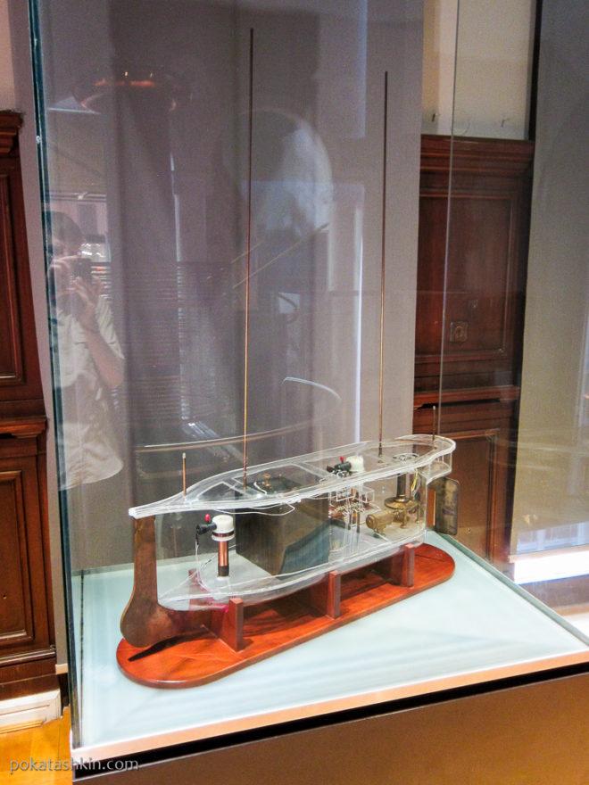 Радиоуправляемая лодка Николы Теслы (Белград)