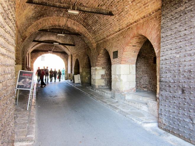 Стамбульские ворота в Белградской крепости