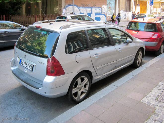 Повреждённый автомобиль