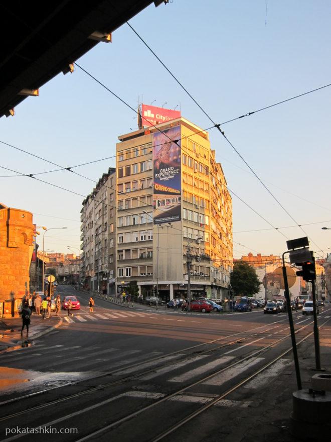 Из-под Бранкова моста