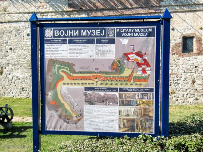 Военный музей в Белградской крепости