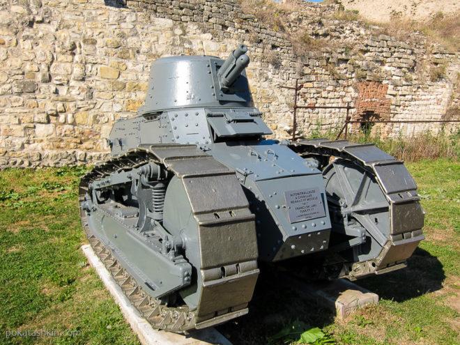 Французский лёгкий танк Renault FT-17
