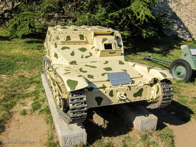 Итальянская танкетка L3/35