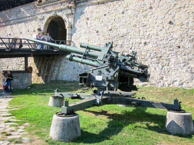 Немецкая 105-мм зенитная пушка FlaK 38