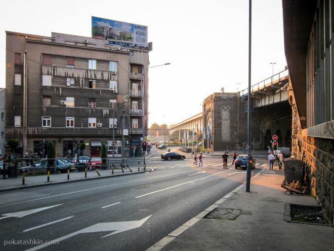 Бранков мост, Белград