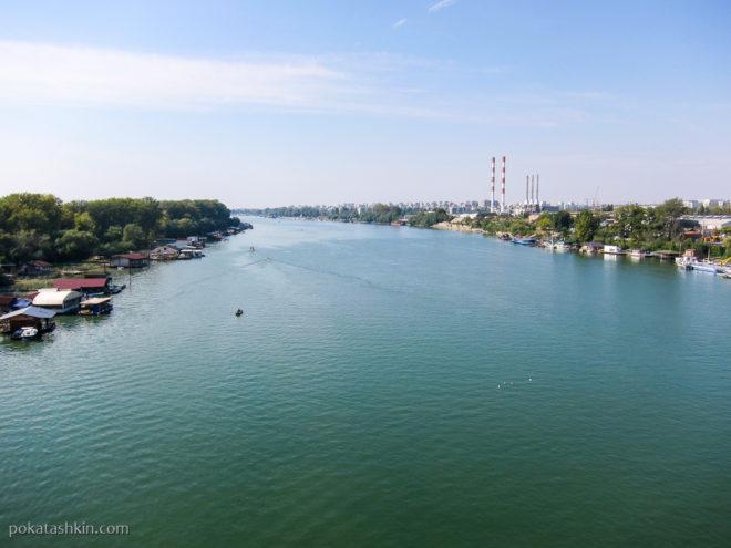 Вид с моста над Адой