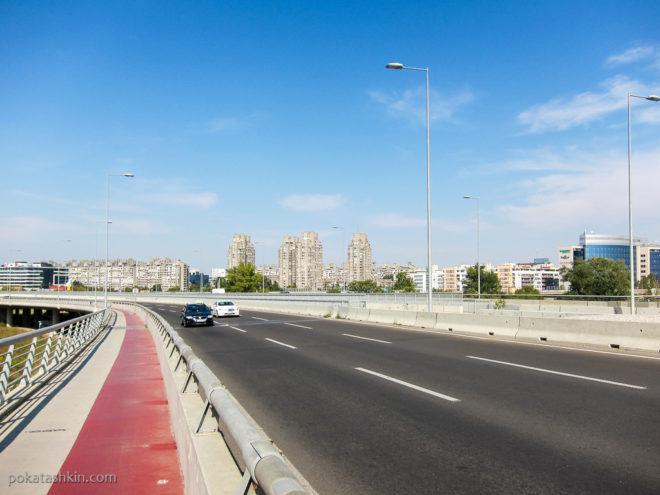 Вид на Новый Белград
