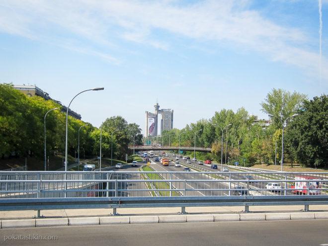 Застройка в Новом Белграде