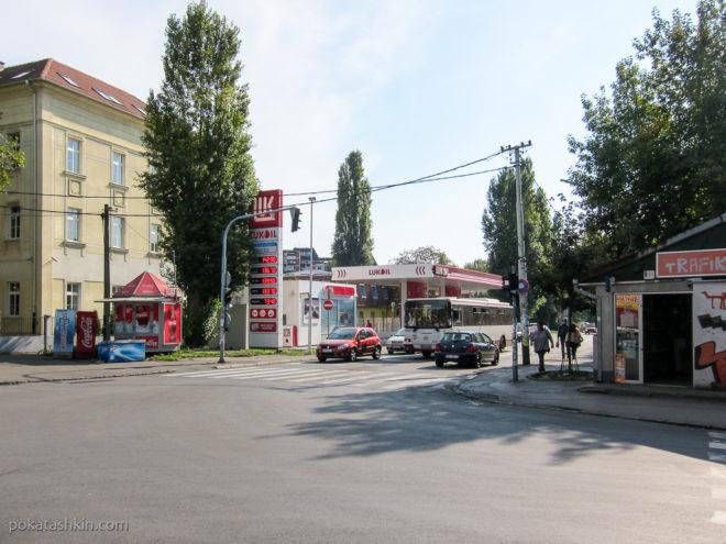 Заправка Лукойл в Белграде