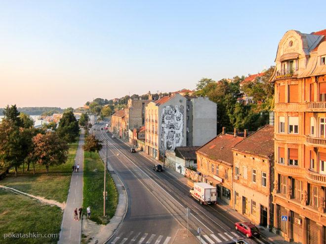 Белград на закате