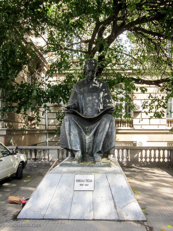 Памятник Николе Тесле