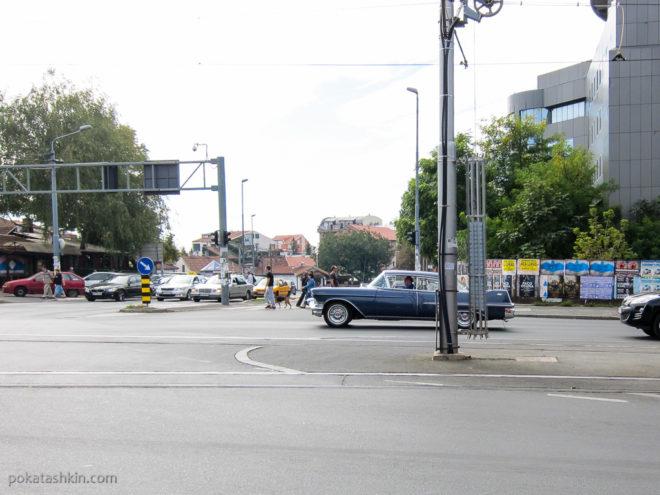 Ретро-автомобили в Белграде
