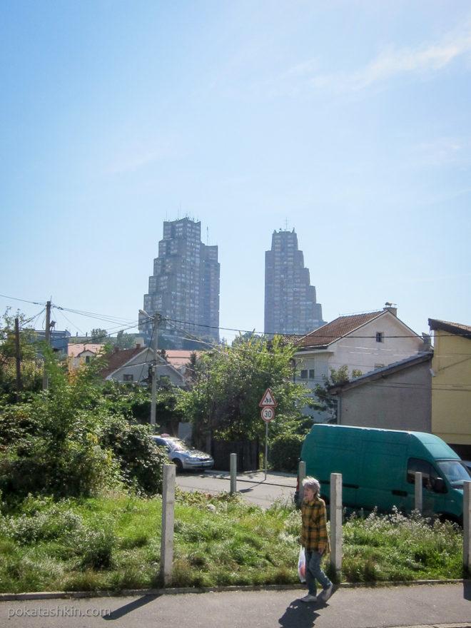 Многоэтажки Белграда