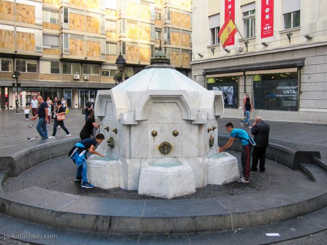 Питьеой фонтанчик