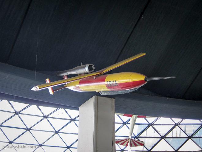 Экспонат музея воздухоплавания
