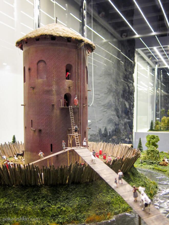Каменецкая башня, г. Каменец, Брестская область, XVII век