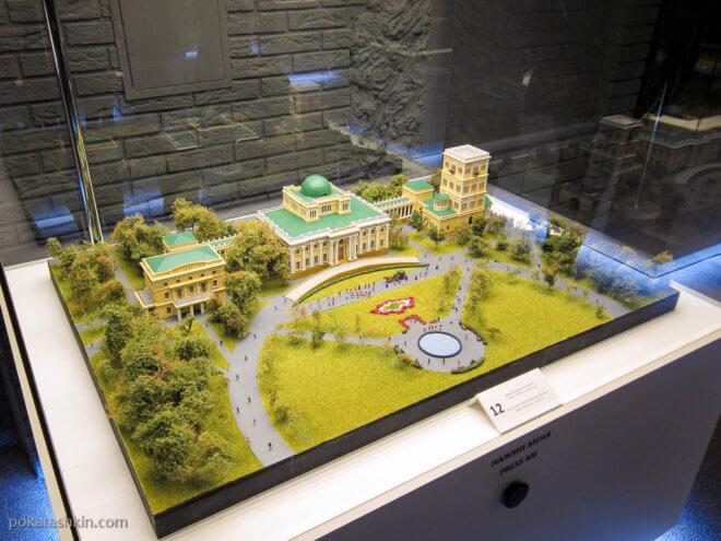Дворец Румянцевых-Паскевичей, г. Гомель, XVIII век