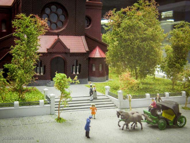 Костел Святого Симеона и Святой Елены, г. Минск, XX век