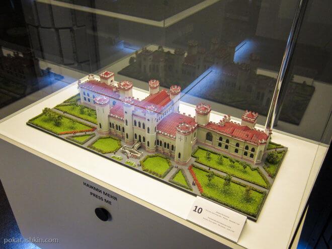 Дворец Пусловских (Коссовский замок) г. Коссово, Брестская область, XIX век