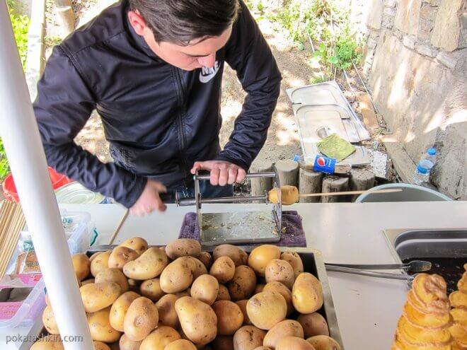 Картофель фри в Стамбуле