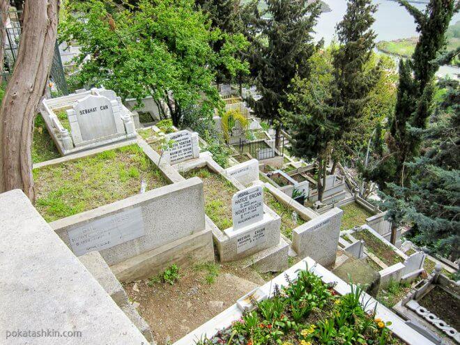 Кладбище в Стамбуле