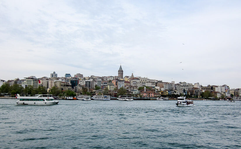 Стамбул. День 1. Галатская башня