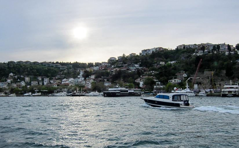Стамбул. День 2. Морская прогулка по Босфору