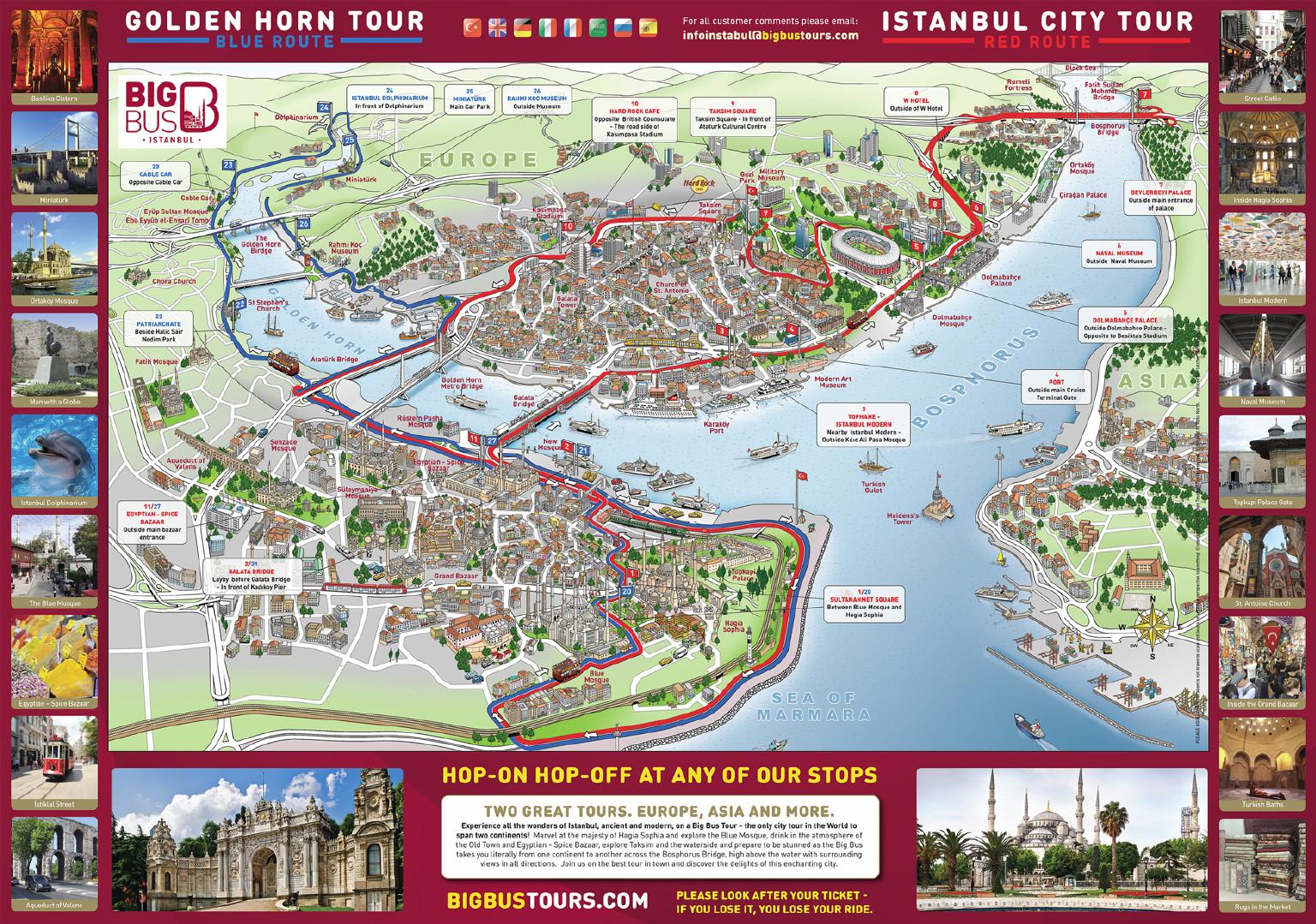Стамбул. День 2. Автобусный тур big bus: из Европы в Азию